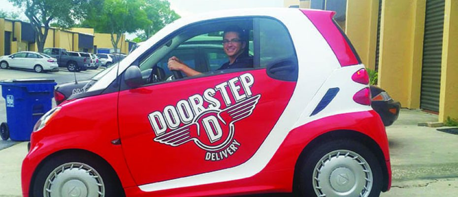 DD_Smart Car Doorstep Delivery