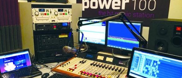Brandon's Radio Station, Power 100, Promotes Local Programming