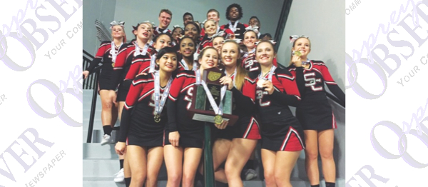 Local Cheer Squads Enjoy Success At 2016 State Championships