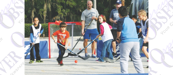 Area Youth Learn Street Hockey Through New Tampa Bay Lightning Initiative