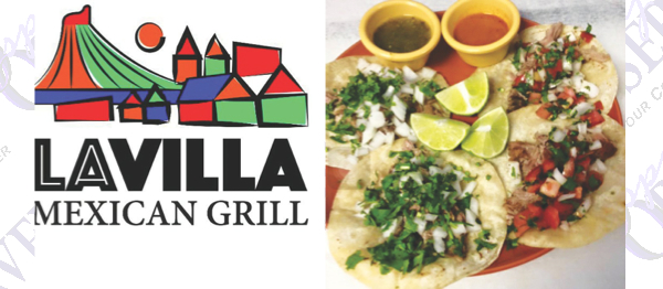 La Villa Mexican Grill Offers Authentic Food Prepared Fresh