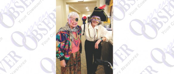 The Crossings At Riverview Assisted Living Hosted Pirate Invasion