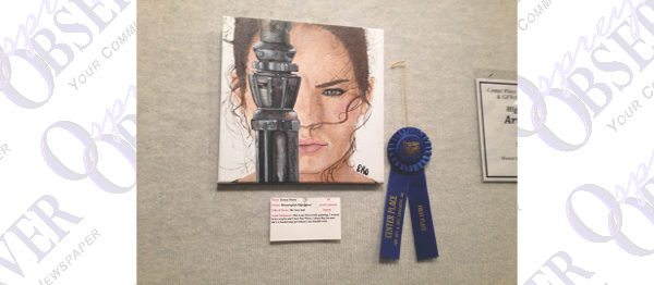 Students Shine At Annual High School Art Show At Center Place