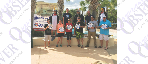 Teachers, Community Leaders Take The Plunge For Newsome Band