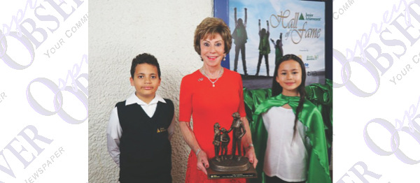 Chalklines: Local Journalism Teacher Honored, Junior Achievement Award Winners