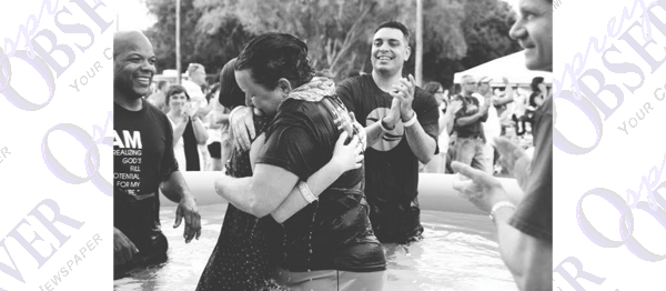 The Crossing Church Celebrates New Believers with Baptism Blowout