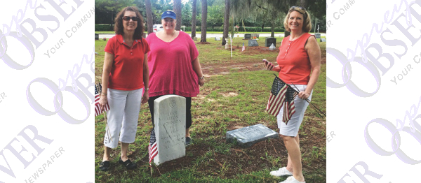 Daughters Of The American Revolution Projects Help Restore Community Cemetery
