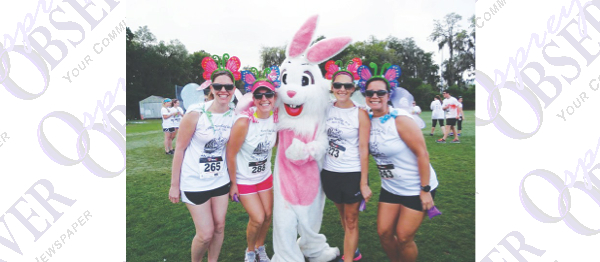 """Color """"Your Egg"""" Run Brings5K/1M  Fun Run To Benefit Seeds Of Hope"""