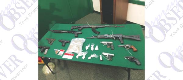 Joint Agency Drug, Gun Investigation Yields Dozens Of Arrests, 20 Guns