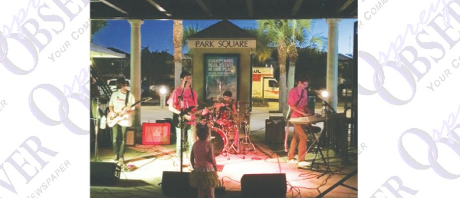 Park Square Concert By Local Band To Raise Funds For Relay For Life Team