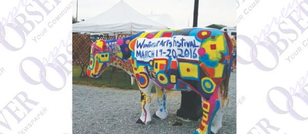 Winthrop Arts, Inc. Puts Awards Over $2,000 In Prizes At Recent Art Show
