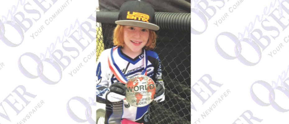 FishHawk Nine-Year-Old Headed To BMX World Championship