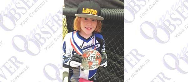 FishHawk Nine-Year-Old Headed To BMX World Championship