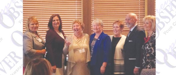 Local Historical Writer Doris Weatherford Honored With Lifetime Achievement Award