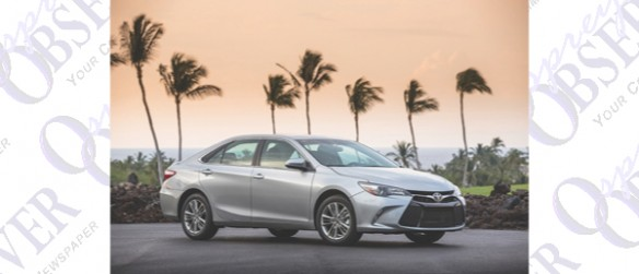STEADFAST TOYOTA CAMRY SEATS FIVE WITH EASE