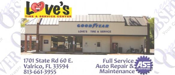 Love's Tire And Service Center Celebrates 20th Anniversary
