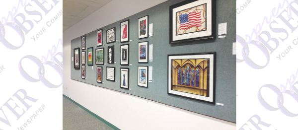 The Artwork Of Chad Loving On Display At Bruton Memorial Library