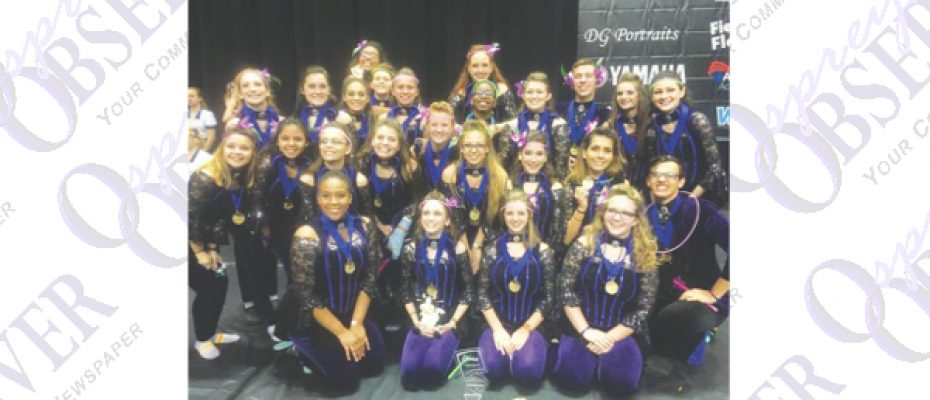 Bloomingdale High School Winter Guards Earn Medals At State Championship