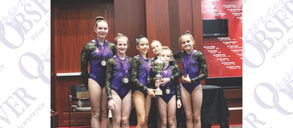 Golden City Gymnasts Bring Home Gold Medals