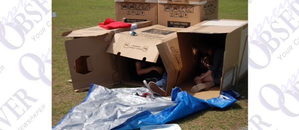 Box Car City Fundraiser Gives Participants Glimpse Of Homelessness
