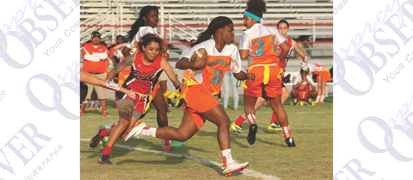 East Bay Hosts Flag Football District Playoff, Bloomingdale Takes Title