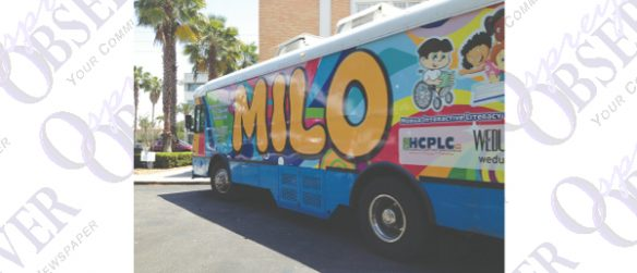 Here Comes MILO, The Mobile Literacy Bus