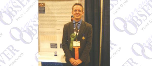 Student Wins Award & Seeks Patent