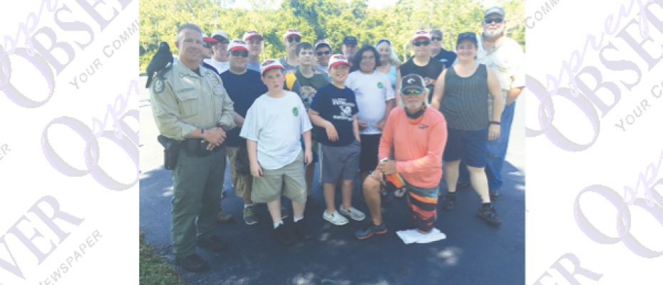 Local Special Needs Students Connect With Nature at Medard Park