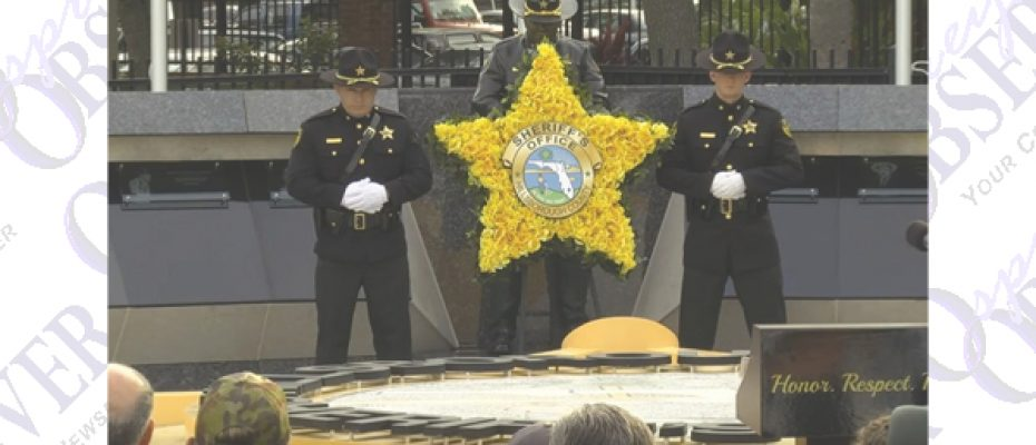 Fallen Deputies Honored During Sheriff's Office Annual Memorial