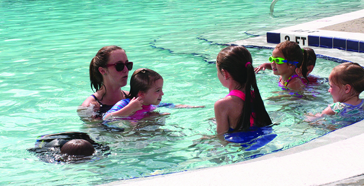 Children's Board Launches Mobile Water Safety Team Swim Lessons