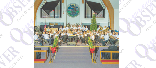 Patriotic Concert Presented by Eastern Hillsborough Community Band At Kings Point
