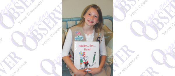 Ready, Set, Read: Riverview Girl Scout