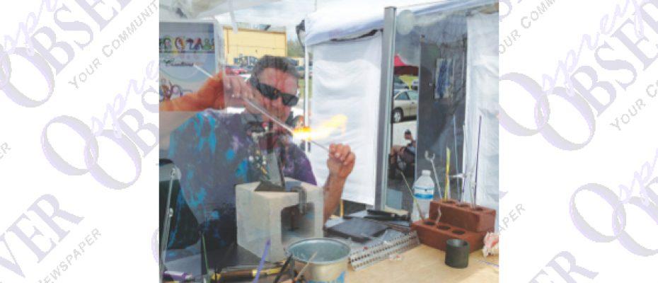 Brandon Artist Creates Glass Sculptures