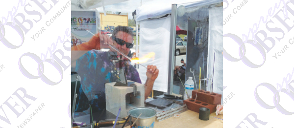 Brandon Artist Creates Glass Sculptures