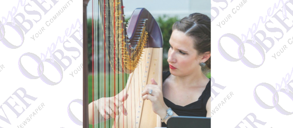 Local Harpist Shares Skills Through Performances, Lessons