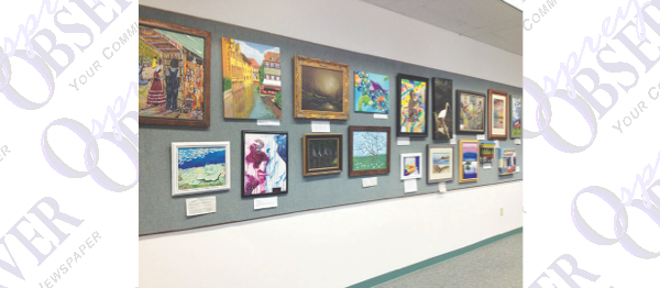 Bruton Memorial Library Displays Collection Of Art Created By The East Hillsborough Art Guild