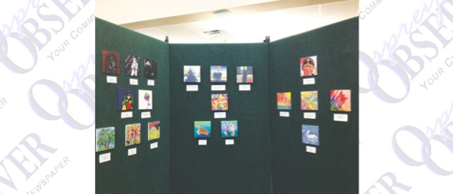 SouthShore Regional Library Crawford Gallery Goes Small With Current Exhibit