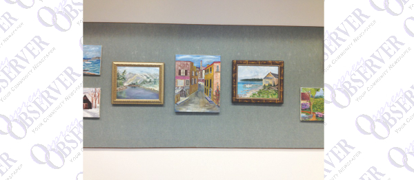 Artwork Of Late Dr. David Charles Cozart On Display At Bruton Memorial Library