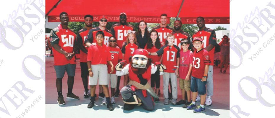 Students Score As Bevis Elementary Dedicated As 24th Buccaneers Academy