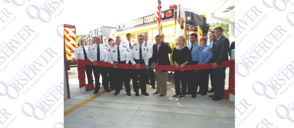 County Celebrates Opening Ceremony New $2.1M Armwood Fire Station