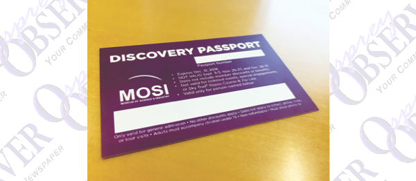 Pay For A Day And Enjoy The Rest Of The Year With MOSI's Discovery Passport