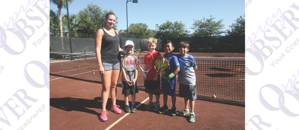 FishHawk Ranch Tennis Club Hosts Summer Youth Camp