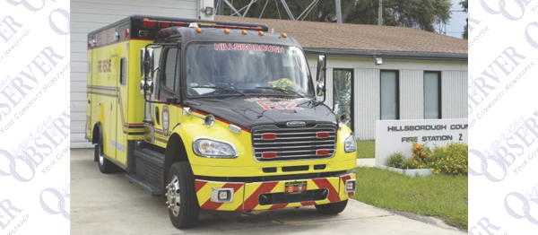 County's Fall Budget Public Hearing To Include Funding For New Fire Rescue Unit in Riverview