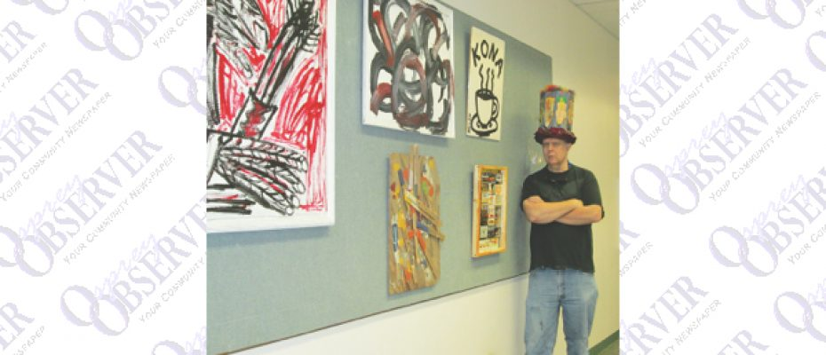 Local Artist, Roy Adams, Displays Work At Bruton Memorial Library This Month