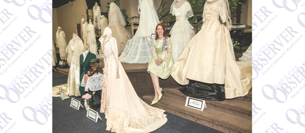 Wedding Dress Collector Preserves Dresses, History Of Past Brides