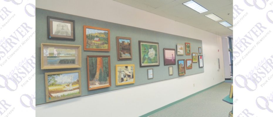 Two Local Artists Work On Display At Bruton Memorial Library