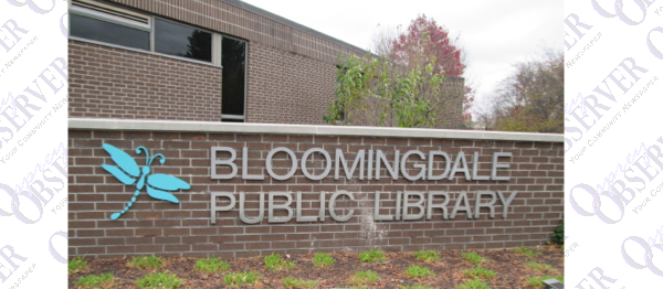 SCHOOLS Book Sale At Bloomingdale Library, Support Group For Parkinson's & More…