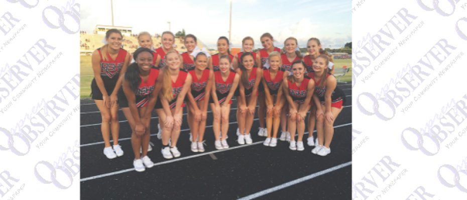 Bloomingdale High Cheer Squad Ready for Competitive Season