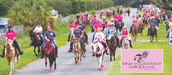 5th Annual Pink Your Pony Saddle Up For A Cure Trail Ride To Benefit Local Family