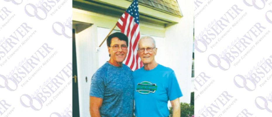Father, Son Compete 2016 County Senior Games